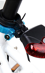 5-LED 4-mode Bicycle Rear/Tail Light Cycling Warning Light