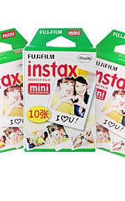 novo mini filme Fujifilm Instax 30 folhas fio liso foto instantânea para a câmera mini-7s 8 25 50 90