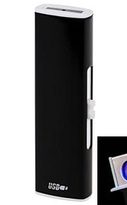 258 de doble cara de la personalidad de carga USB u arc encendedores negro, azul, rojo de la rosa, oro