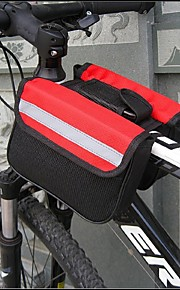 SOLOMO®Bike Frame Bag Cycling/Bike For All Phones (Wearable / Multifunctional /Red / Black / Blue /600D/16*13*5cm)