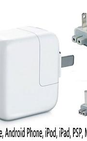 US / EU spina USB caricatore da muro adattatore di alimentazione per ipad, iphone / samsung / HTC / moto / Sony telefoni cellulari /