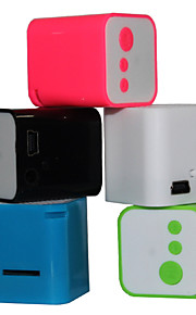 Mini Portable MP3 Card  Speaker (Assorted Color)