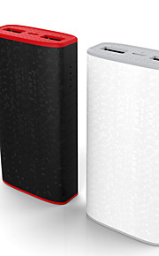 BOAS Besiter Portable Power Bank 2 USB 4000mAh External Mobile Battery Charger for iPhone 6 6s Samsung iPad PC
