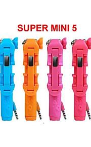 rk-Mini5 supremo mini-5 dom caneta tamanho selfie sem fio quente vara choca o mercado na venda
