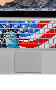 """docooler xskn silicone copertura della pellicola della pelle della tastiera per l'aria di Apple MacBook Pro 13 """"15"""" 17 """"ci versione"""