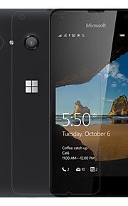 anti-huella digital película del protector de pantalla de cristal claro nillkin para el lumia 550