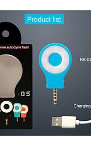 rk07 neight usando selfie reforço luz do flash (cores sortidas)