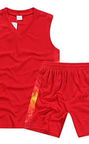 Sleeveless Sublimation Printing Basketball Jerseys&Basketball Sets