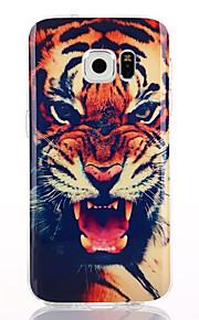 tigre patrón TPU + soft IMD para múltiples s7 galaxia de Samsung