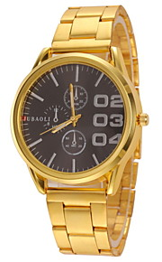 Women's Casual Design Gold Alloy Band Quartz Wristwatch Cool Watches Unique Watches