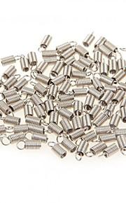 500pcs sølv tone metal stik perler foråret hægter krog finde hot 3mm nye
