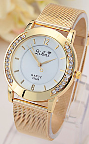 montre filet d'or de dames avec montre en diamant