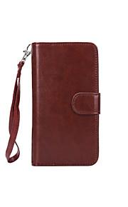 Per Samsung Galaxy S7 Edge A portafoglio / Porta-carte di credito / Con chiusura magnetica Custodia Integrale Custodia Tinta unita
