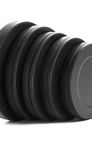 metal linse filter Bag kasket beskyttende bærbar boks 37 / 40,5 / 43/46 / 49mm