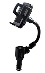 Mobilstativ Bilar Justerbart Stativ / Stativ med Adapter Plast for Mobiltelefon