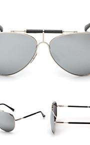 Solbriller kvinder's Retro/vintage / Mode / Pilot Øjenbrunslinje Sort / Sølv / Guld Solbriller Full-Rim