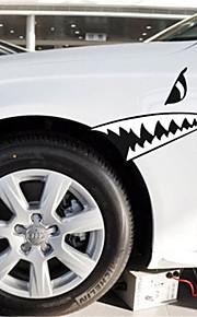 Funny SHARK TEETH Car Sticker Car Window Wall Decal Car Styling (1pcs)