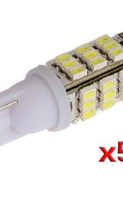 t10 W5W 501 5x 194 168 192 42 ledet smd side kile lys lampe pære (5 stk)
