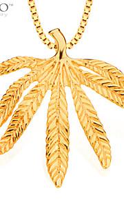 mode blade vedhæng mænd smykker 18K forgyldt halskæder&vedhæng vintage smykker kvindelige gaver p30117