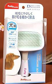 huisdier hond haar verzorgen gelikter rake borstel kam bijzondere tip 360 graden rotatie s