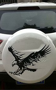 50*50CM Reflective The eagle Personality Car Stickers(1pcs)