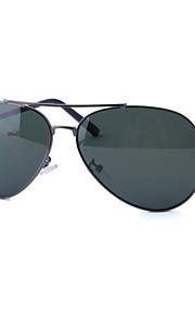 Solbriller mænd / kvinder / Unisex's Klassisk / Mode Pilotbriller Sort / Grå Solbriller / Kørsel Full-Rim