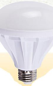 10 stk. Other E14 / E26/E27 7W / 3W 11 SMD 5730 1200 lm Varm hvit Roterbar Dekorativ LED-globepærer AC 100-240 V