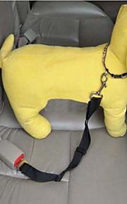 Kediler / Köpekler Tasma Kayışı / Köpek Oto Koltuğu Harness / Emniyet Kemeri Ayarlanabilir/İçeri ÇekilebilirKırmızı / Siyah / Yeşil /