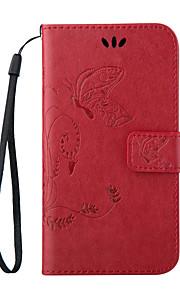 LG L70 Cuero PU Fundas  Completas Gráfico / Diseño Especial cubierta de la caja