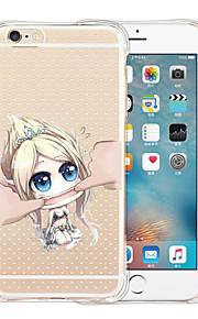 Jeg er ikke din dukke blød gennemsigtig silikone Tilbage Case for iPhone 5 / 5s (assorterede farver)