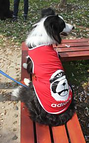 Gatti / Cani T-shirt-Estate / Primavera/Autunno-Di tendenza Sport-Rosso / Nero / Blu scuro / Blu chiaro- diCotone
