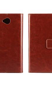 caja de la PU del tirón del cuero estilo de la carpeta de lujo con cierre magnético y una tarjeta de Microsoft Lumia 650 (colores