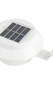 hry® 3leds lys-kontroll varm / kald hvit farge solens lys lampe utendørs hage verksted vegg takrenne gjerdet vegglampe
