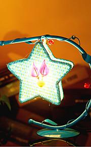 creatieve pentagram lamp slaapkamer bedlampje verlichting lampen van de europese romantische persoonlijkheid geschenk (assorti kleur)