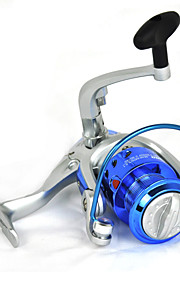 Blue Carp Fishing Spinning Reel 6BB Interchangeable 5.2:1 DQ3000