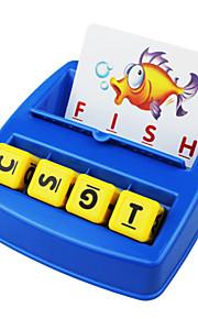 crianças na primeira infância letras de co-instalação correspondente procurar aprender conjunto de brinquedo alfabeto Inglês