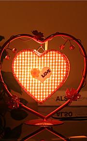 creatieve perzik hart lamp slaapkamer bedlampje verlichting lampen van de europese romantische persoonlijkheid geschenk (assorti kleur)