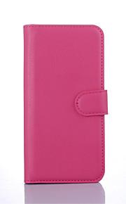 HTC 하나 E9 + / E9에 대한 PU 가죽 지갑 플립 케이스 플러스