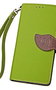 hoja karzea ™ Funda protectora de cuerpo completo de la PU con la cubierta de TPU para soportar N650 Nokia Lumia Microsoft (colores