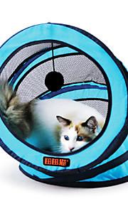Katzen Spielzeuge Teaser Squeak Plastik Grün / Blau / Rose