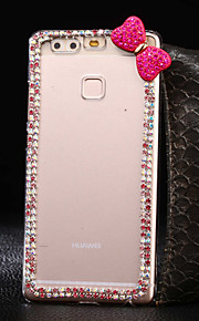 custodia rigida mei bowknot rosso modello pc diy per Huawei Ascend p9 / p9lite / onorare 4x / 5x / honor6 / 7 / P8 / p8lite / Y560 / G8 /