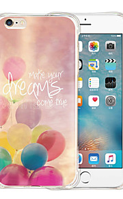 Let The Dream Fly Soft Transparent Silicone Back Case for iPhone 6/6S (Assorted Colors)