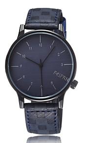 Unisex Fashion Watch Korean Fashion Retro Casual Double Belt Scale Quartz Watch Men Women General (Assorted Colors)