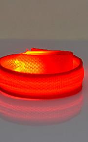 Outdoor Sports  Adjustable LED Lighting Bracelet Cycling Night Run Equipment