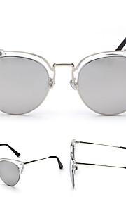 Solbriller kvinder's Retro/vintage / Mode Katøje Sort / Sølv / Guld Solbriller Halvkant