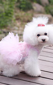 Personality Sweety Stereoscopic Rose Lace Pet Dress