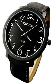 relógios das mulheres, grande mostrador de relógio de couro fosco, relógio de quartzo analógico, os alunos assistem, relógio de pulso dos