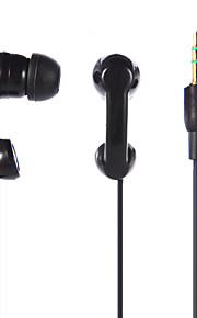 3,5 mm stereo in-ear øretelefon høretelefoner hovedtelefoner til ipod / ipad / iphone / mp3 sort / hvid tp-888