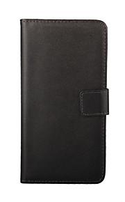 HTC 하나 M9위한 스탠드와 카드 슬롯이있는 솔리드 컬러 가죽 전신 케이스 (모듬 색상)