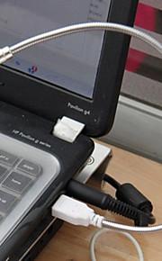 mlsled® markere fleksibel usb rustfritt stål ledet night lesebok lys for bærbare laptop pc datamaskin etc